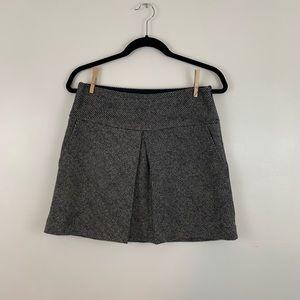 Calvin Klein Wool blend pleated mini skirt Size 4